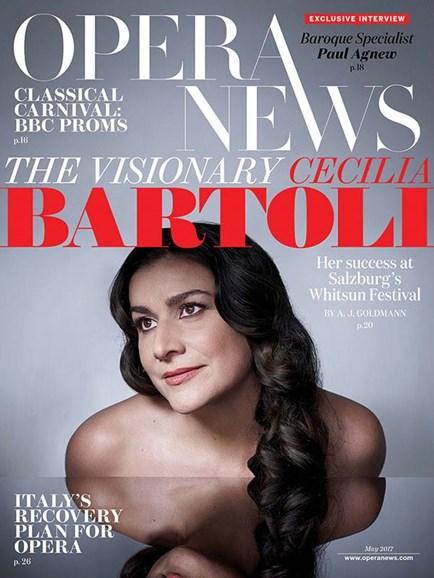Opera News Cover - 5/1/2017