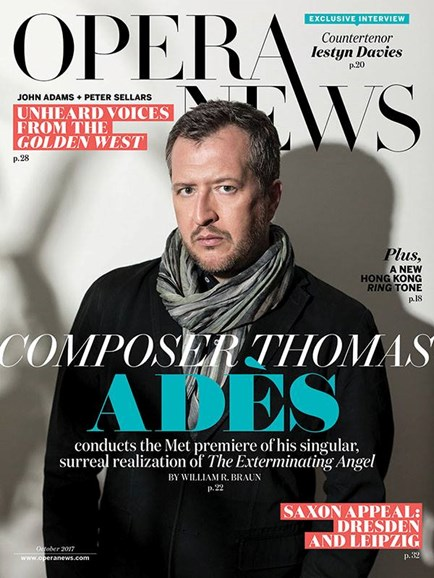 Opera News Cover - 10/1/2017