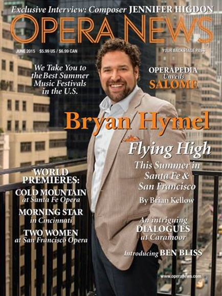 Opera News Cover - 6/1/2015