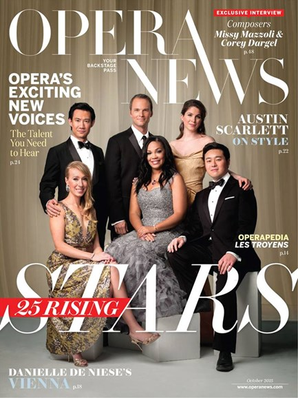 Opera News Cover - 10/1/2015