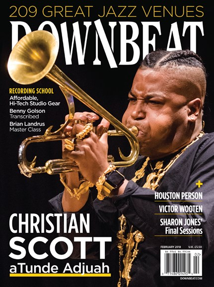 DownBeat Cover - 2/1/2018