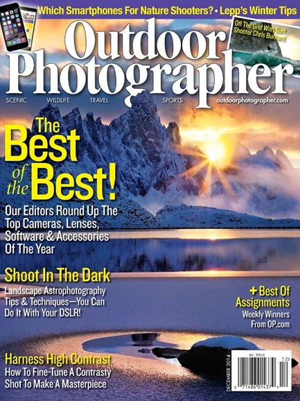 Outdoor Photographer Cover - 12/1/2014