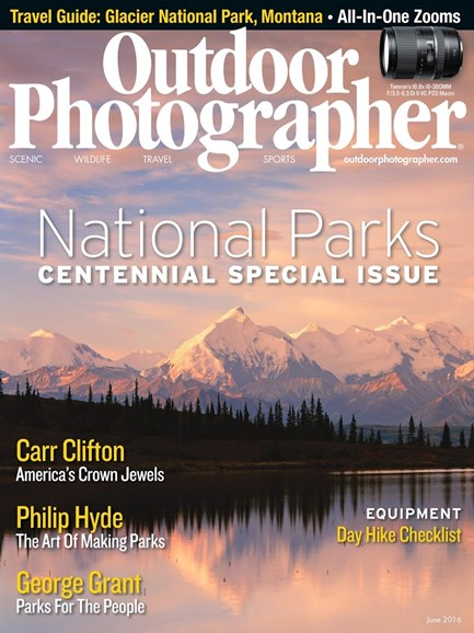 Outdoor Photographer Cover - 6/1/2016