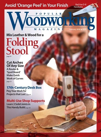 Popular Woodworking Cover - 2/1/2018