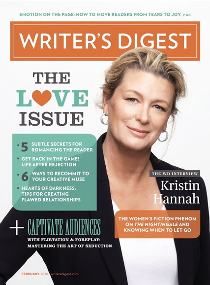 Writer's Digest Cover - 2/1/2018