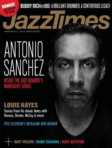 JazzTimes Cover - 11/1/2017