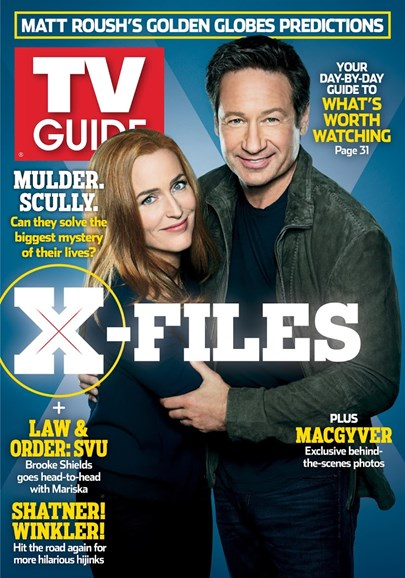 TV Guide Cover - 12/25/2017
