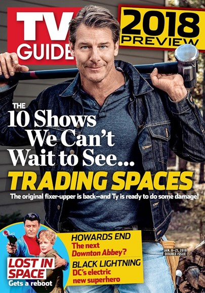 TV Guide Cover - 1/8/2018