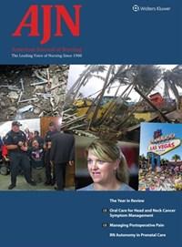 AJN American Journal Of Nursing | 1/1/2018 Cover