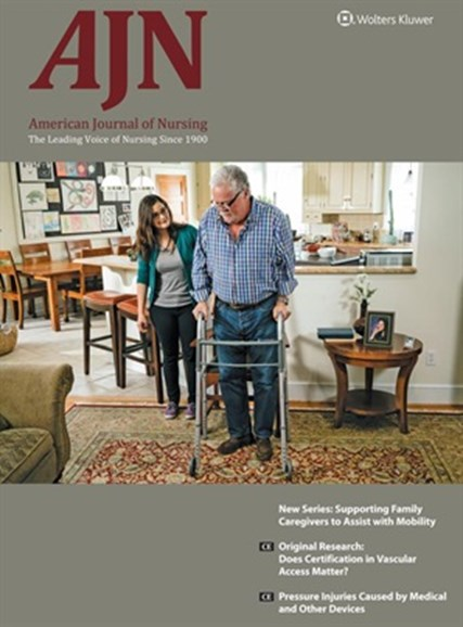 AJN The American Journal Of Nursing Cover - 12/1/2017
