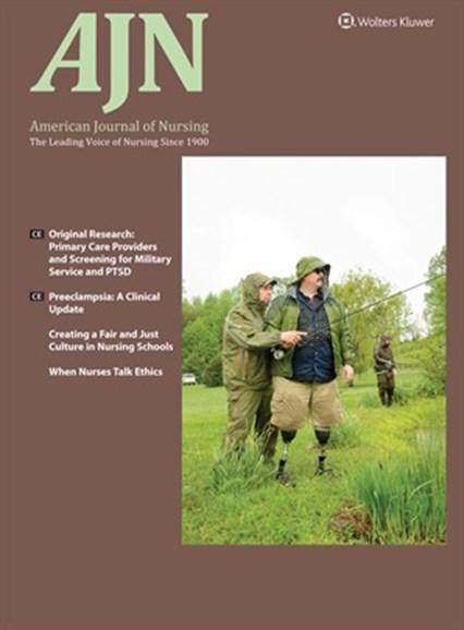AJN The American Journal Of Nursing Cover - 11/1/2017