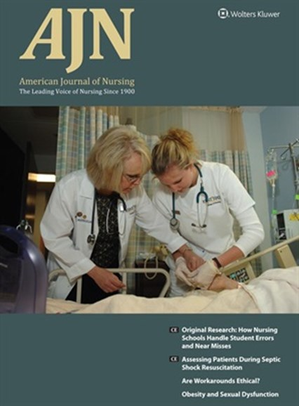 AJN The American Journal Of Nursing Cover - 10/1/2017