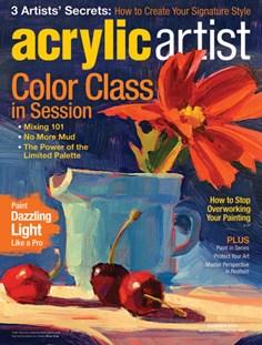 Acrylic Artist | 6/2017 Cover
