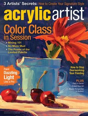 Acrylic Artist | 6/1/2017 Cover