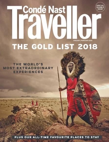 Condé Nast Traveller UK Edition Cover - 1/1/2018