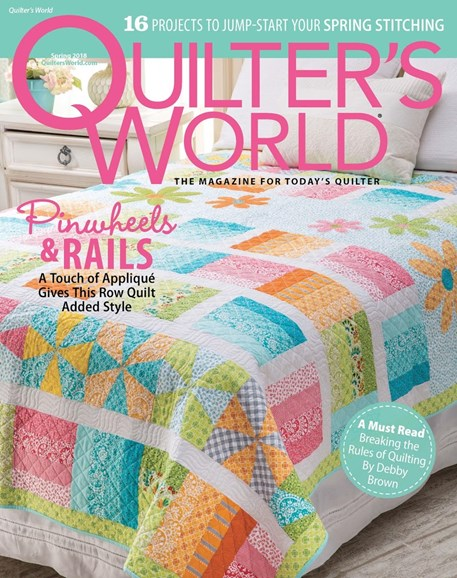 Quilter's World Cover - 3/1/2018