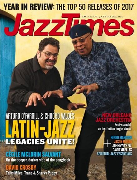 JazzTimes Cover - 1/1/2018