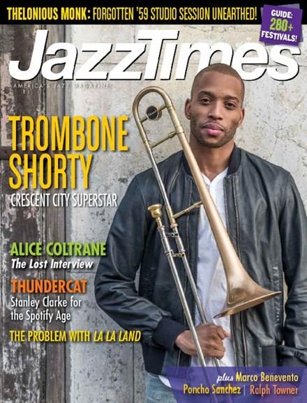 JazzTimes Cover - 5/1/2017