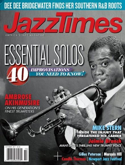 JazzTimes Cover - 10/1/2017