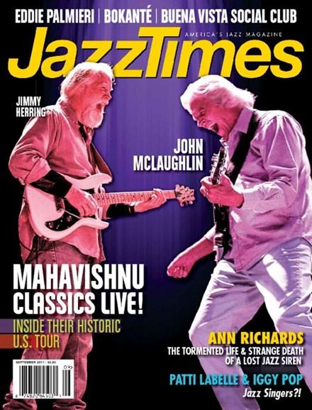 JazzTimes Cover - 9/1/2017