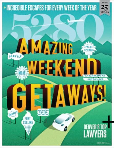 5280 Magazine Cover - 1/1/2018