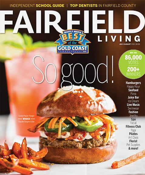 Fairfield Living Cover - 7/1/2015