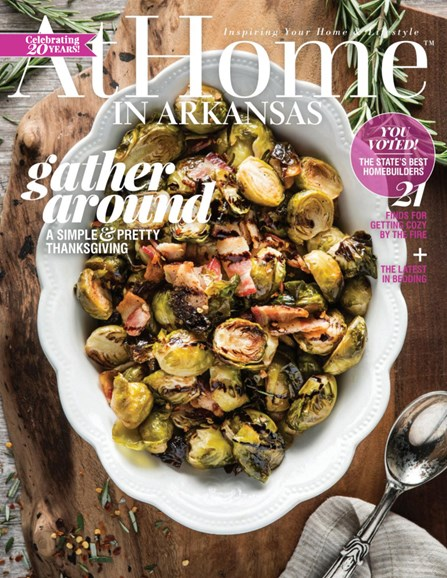 At Home In Arkansas Cover - 11/1/2017