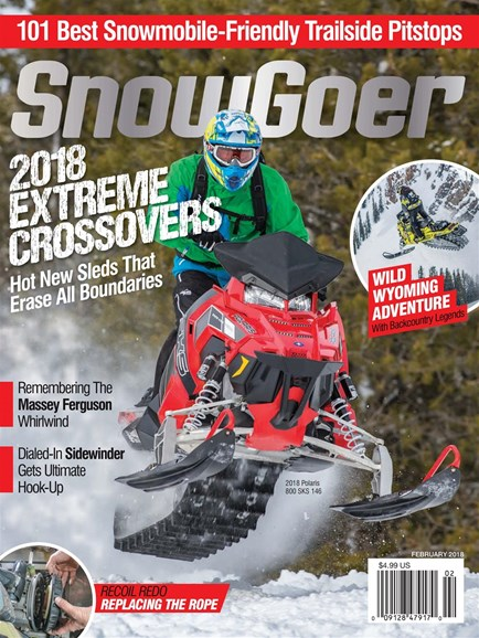 Snow Goer Cover - 2/1/2018