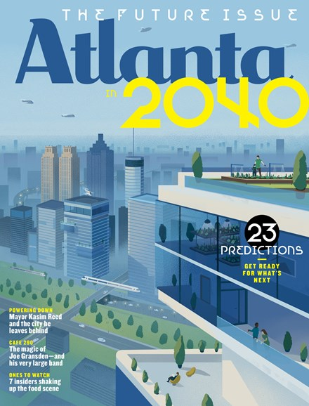 Atlanta Magazine Cover - 1/1/2018