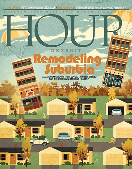 Hour Detroit Cover - 11/1/2017