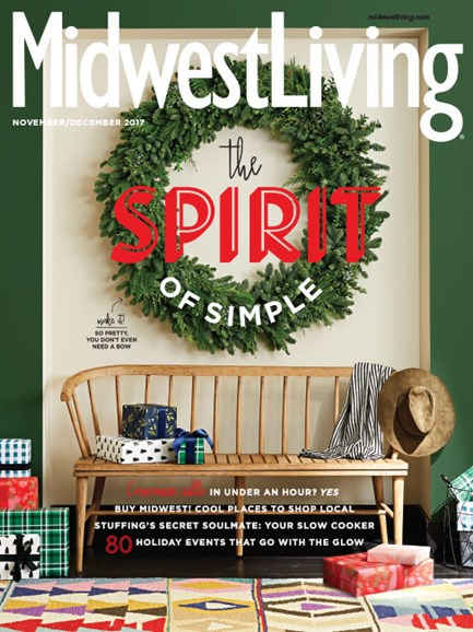 Midwest Living Cover - 11/1/2017