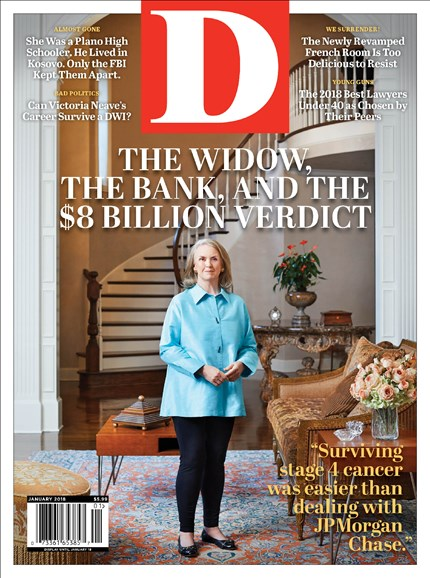 D Magazine Cover - 1/1/2018