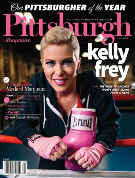 Pittsburgh Magazine Cover - 1/1/2018
