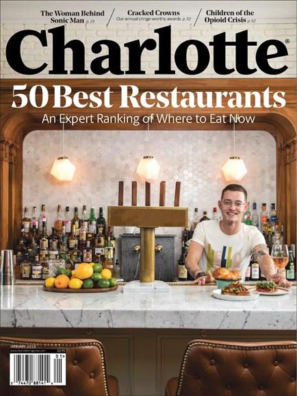 Charlotte Magazine Cover - 1/1/2018