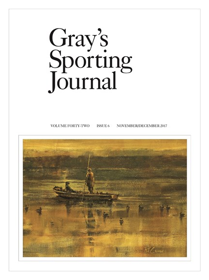 Gray's Sporting Journal Cover - 11/1/2017