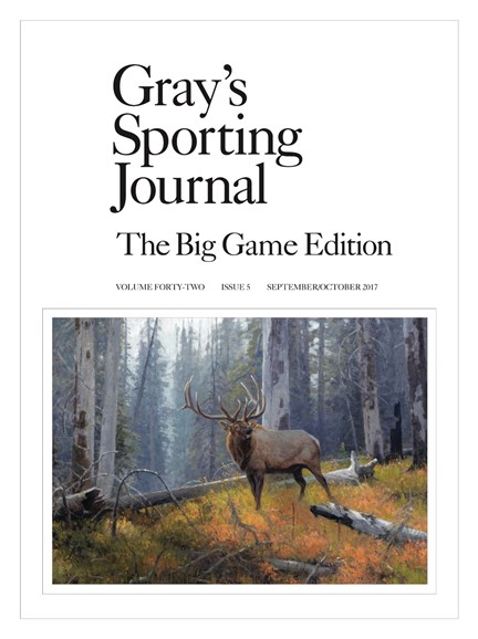 Gray's Sporting Journal Cover - 9/1/2017