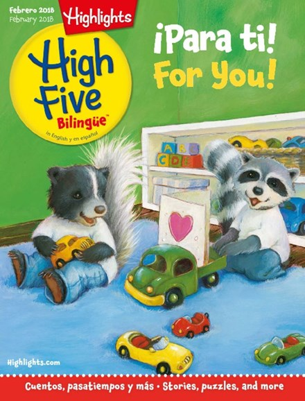 Highlights High Five Bilingue Cover - 2/1/2018