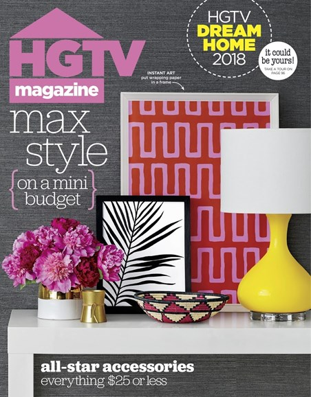 HGTV Cover - 1/1/2018