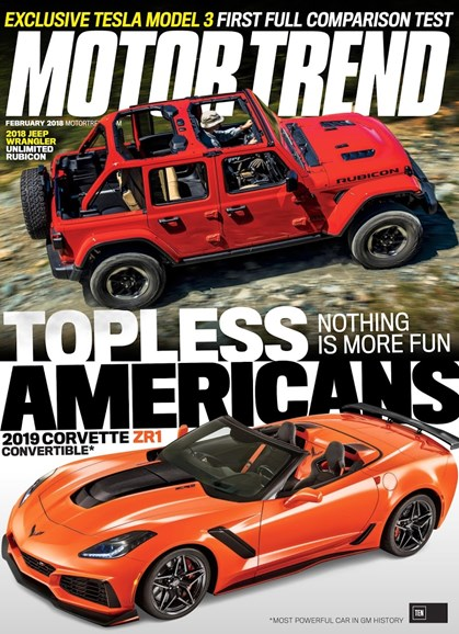 Motor Trend Cover - 2/1/2018