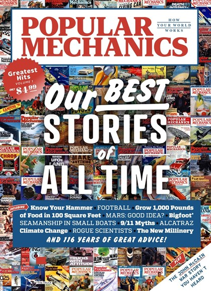 Popular Mechanics Cover - 1/1/2018