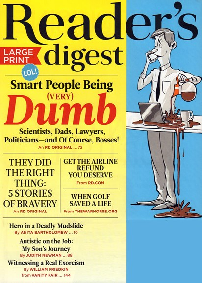 Reader's Digest - Large Print Edition Cover - 10/1/2017