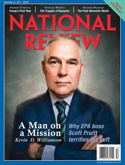 National Review Cover - 12/31/2017