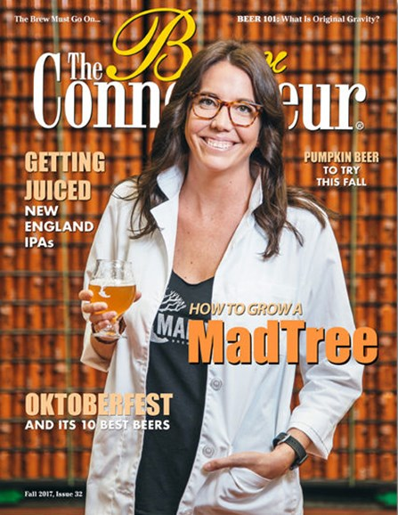 The Beer Connoisseur Cover - 9/1/2017