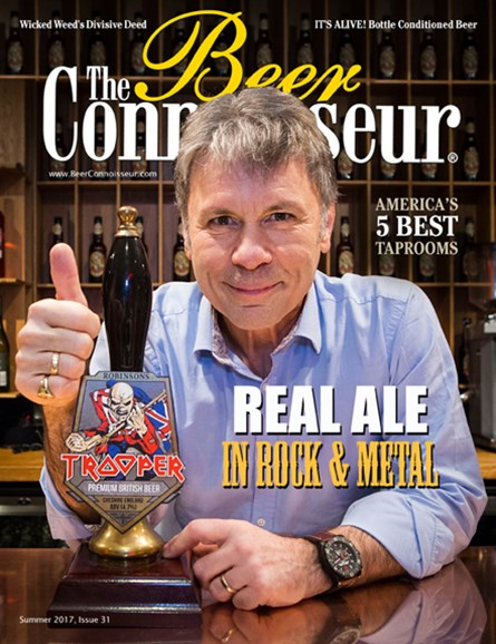 The Beer Connoisseur Cover - 7/1/2017