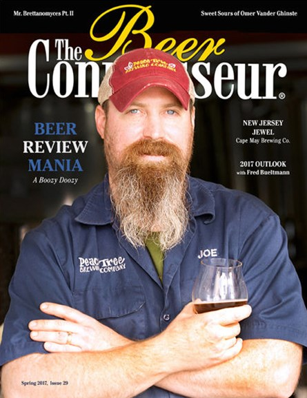The Beer Connoisseur Cover - 3/1/2017