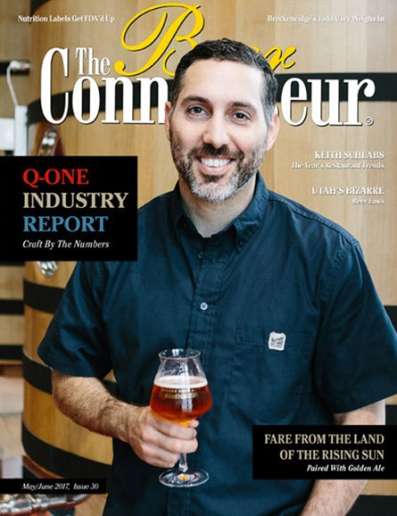 The Beer Connoisseur Cover - 5/1/2017