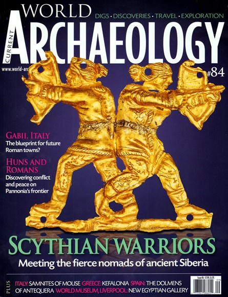 Current World Archaeology Cover - 8/1/2017