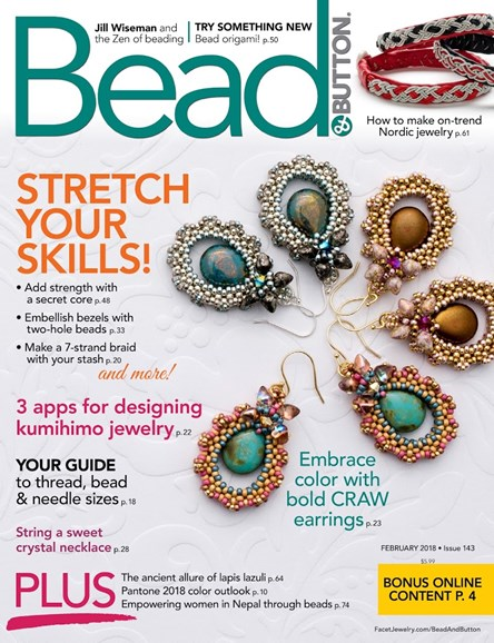 Bead & Button Cover - 2/1/2018