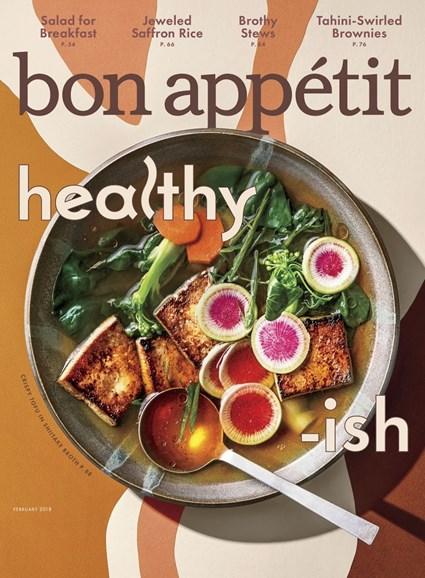 Bon Appétit Cover - 2/1/2018