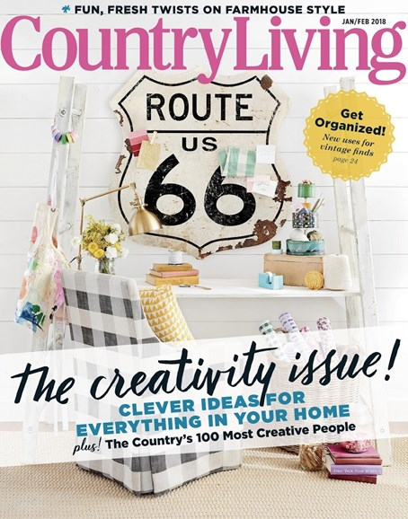 Country Living Cover - 1/1/2018